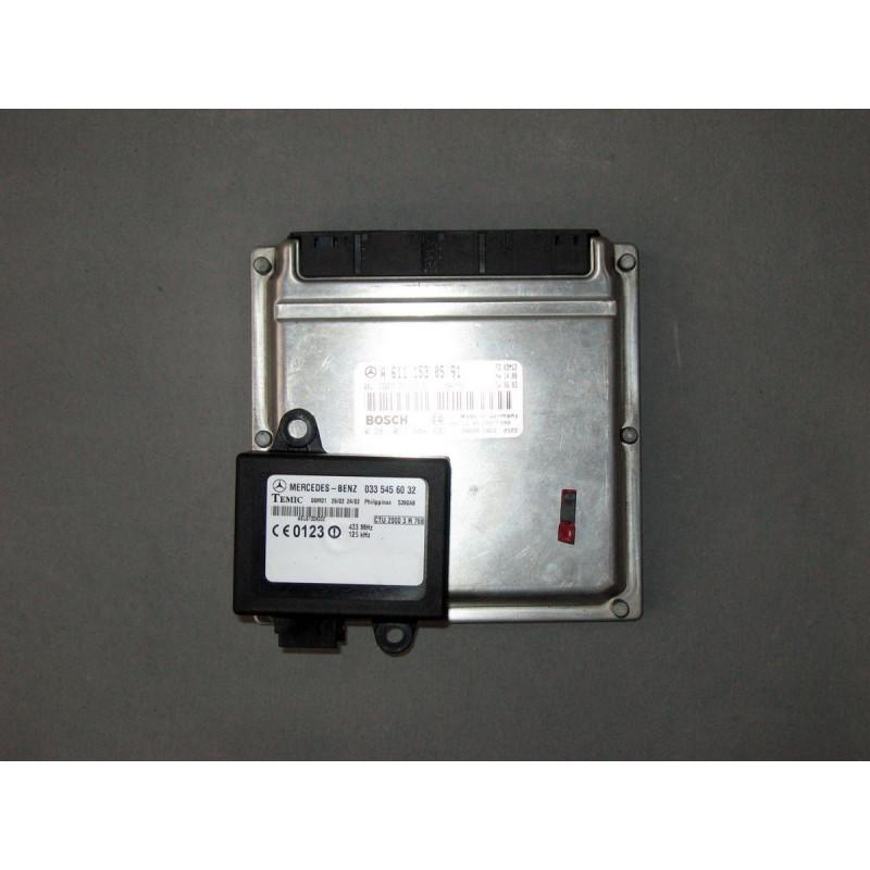 Блок управления двигателя (комплект) MB Sprinter W901-905 OM611 2000-2006