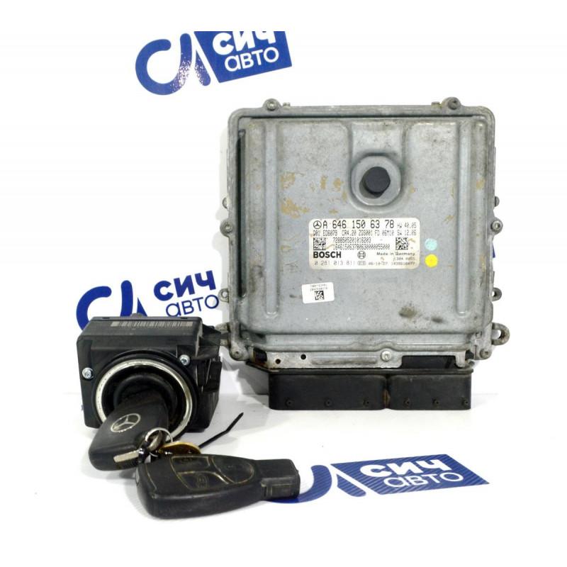 Блок управления двигателя (комплект) MB Sprinter W906 OM646 2006-2016