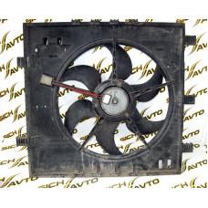 Диффузор с вентилятором кондиционера MB Vito W638 CDI 2000-2003