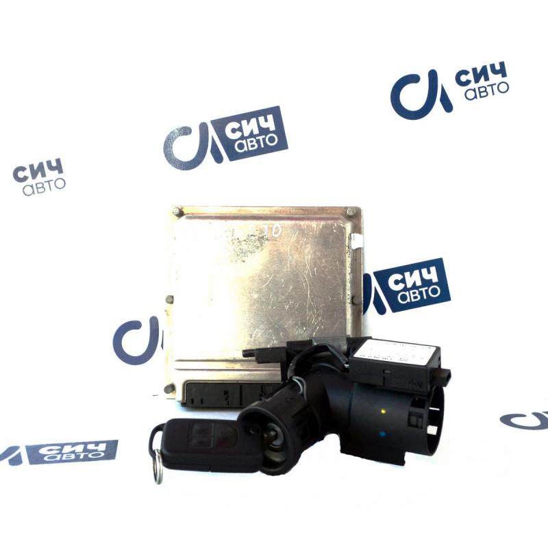 Блок управления двигателя (комплект) MB M-Class W163 OM612 1998-2005