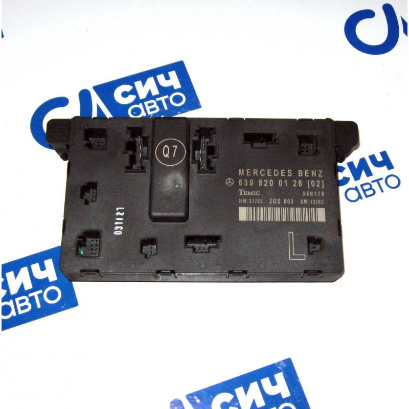 Блок комфорта передней левой двери MB Vito W639 2003-2010