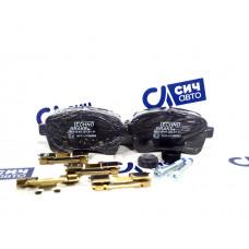 Колодки тормозные задние (новые) Iveco Daily 06- 42555917