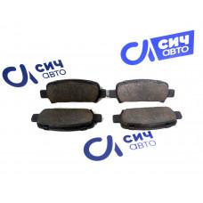 Колодки тормозные задние (новые) Subaru Impreza 95- 26291-AC041