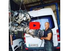 Замена двигателя ОМ651