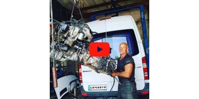 Замена двигателя ОМ651 на ОМ646, 612, 611, 602